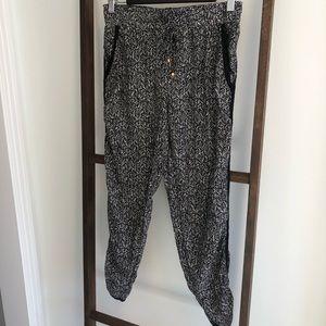 Pattern Bohemian Jogger Pants